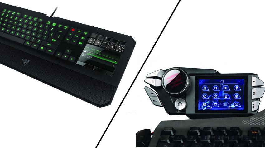 Razer y Mad Catz presentan dos teclados que te quitaran el aliento (y el dinero de tu bolsillo) [Hardware]