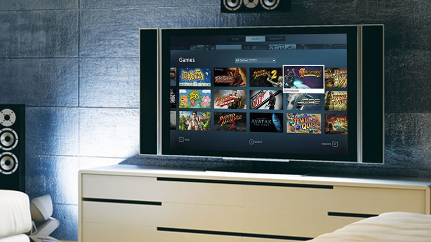 Steam en tu televisor gracias a Big Picture [Beta]