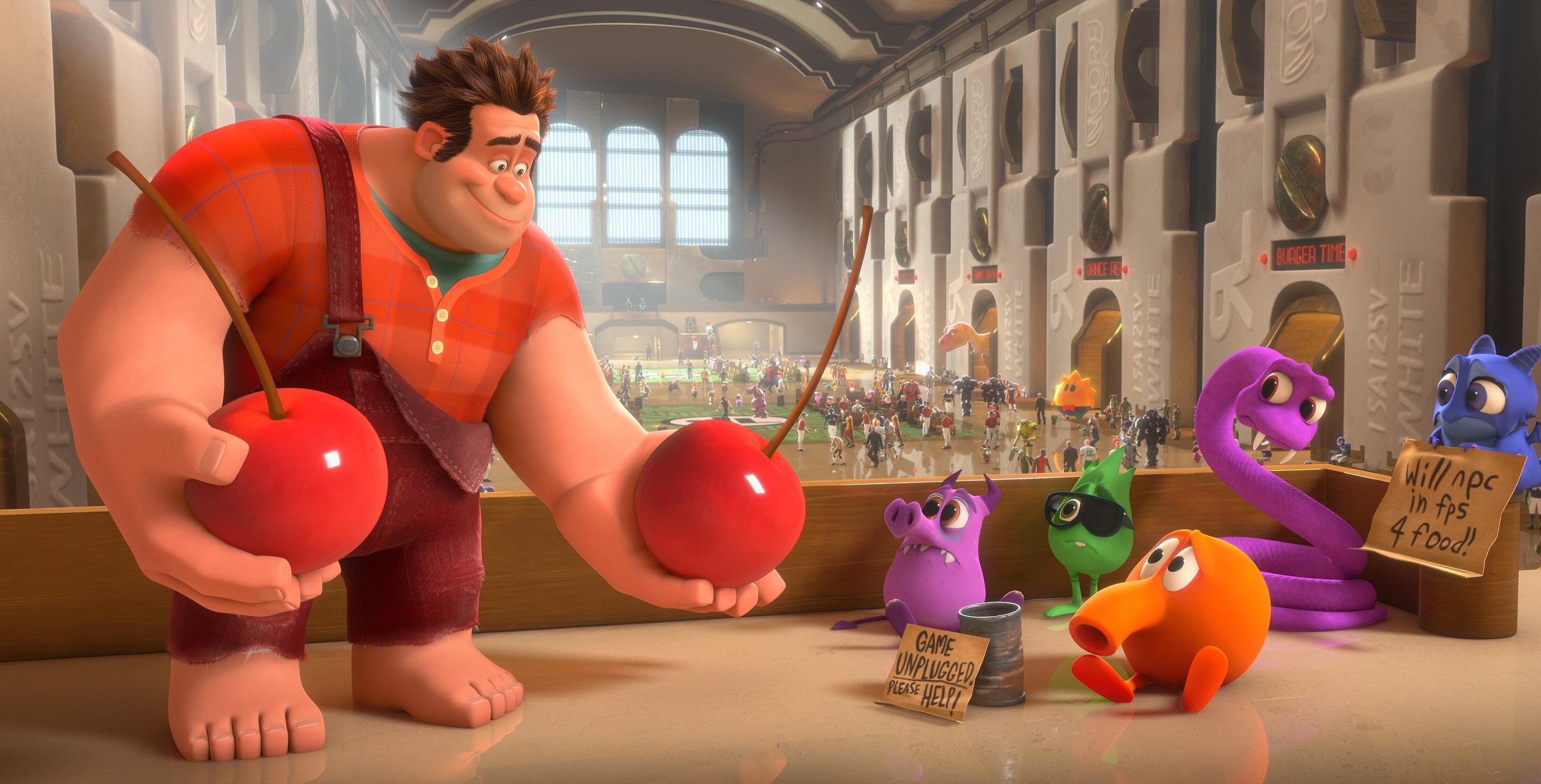 Nuevo trailer de Wreck-it Ralph muestra lo que los personajes de videojuegos hacen en su tiempo libre [Vídeo]