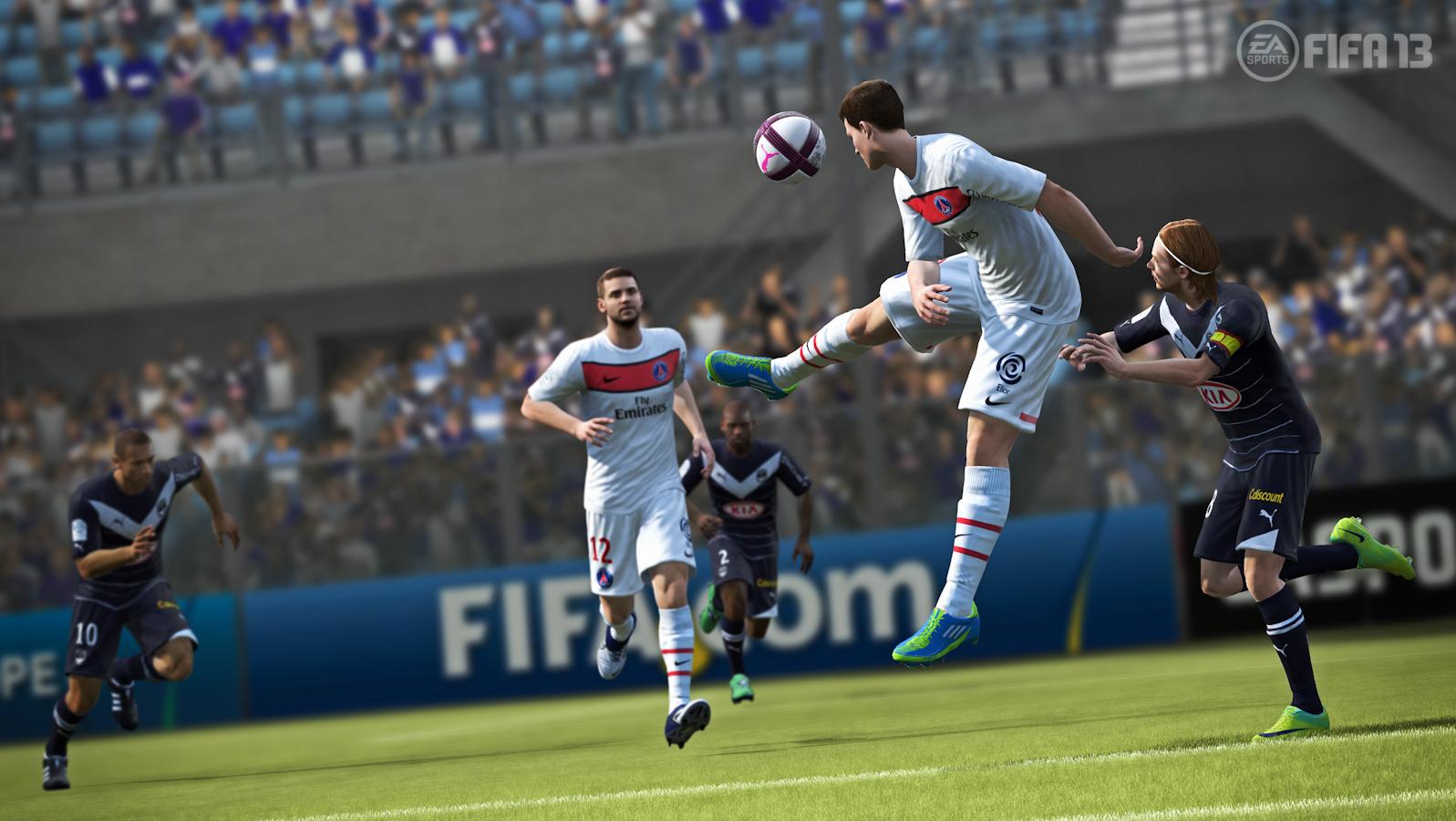 Primeras impresiones de FIFA 13 [Cabeza de Pelota]