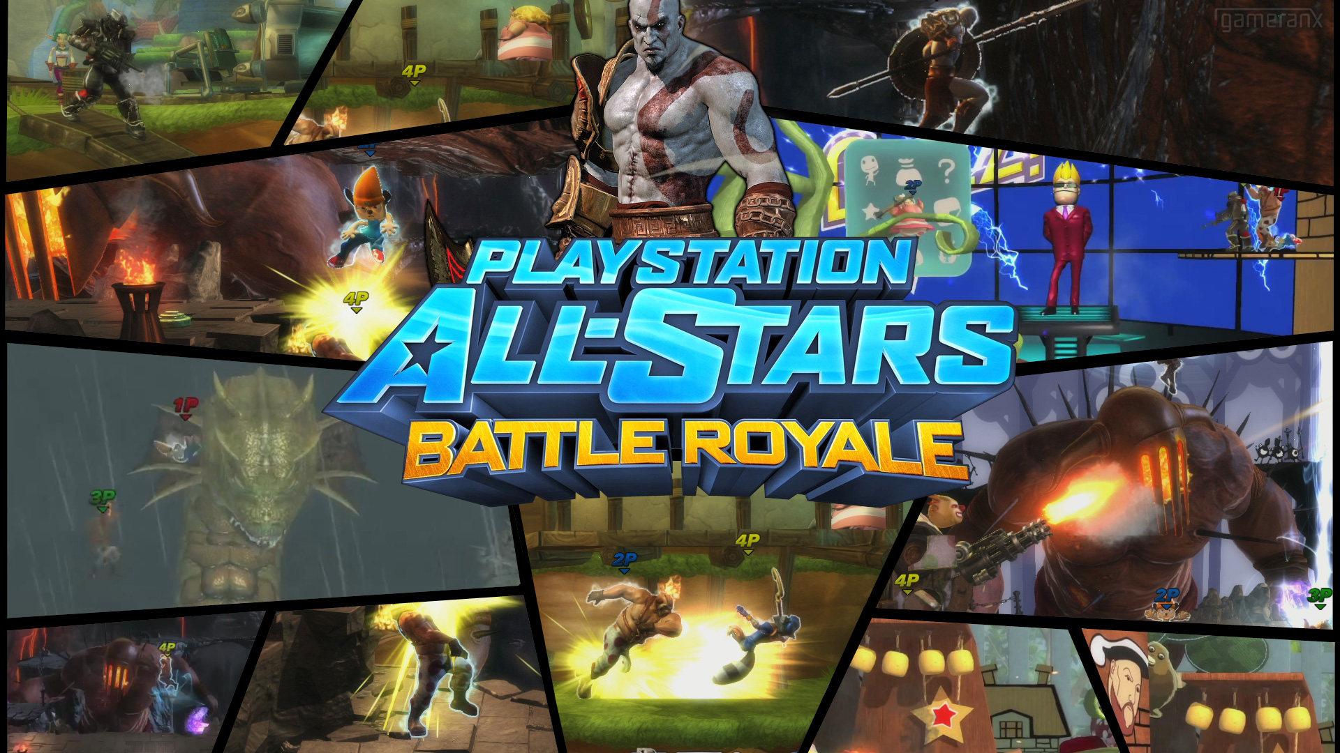 Se anuncia fecha para la beta pública de PlayStation All-Stars Battle Royale