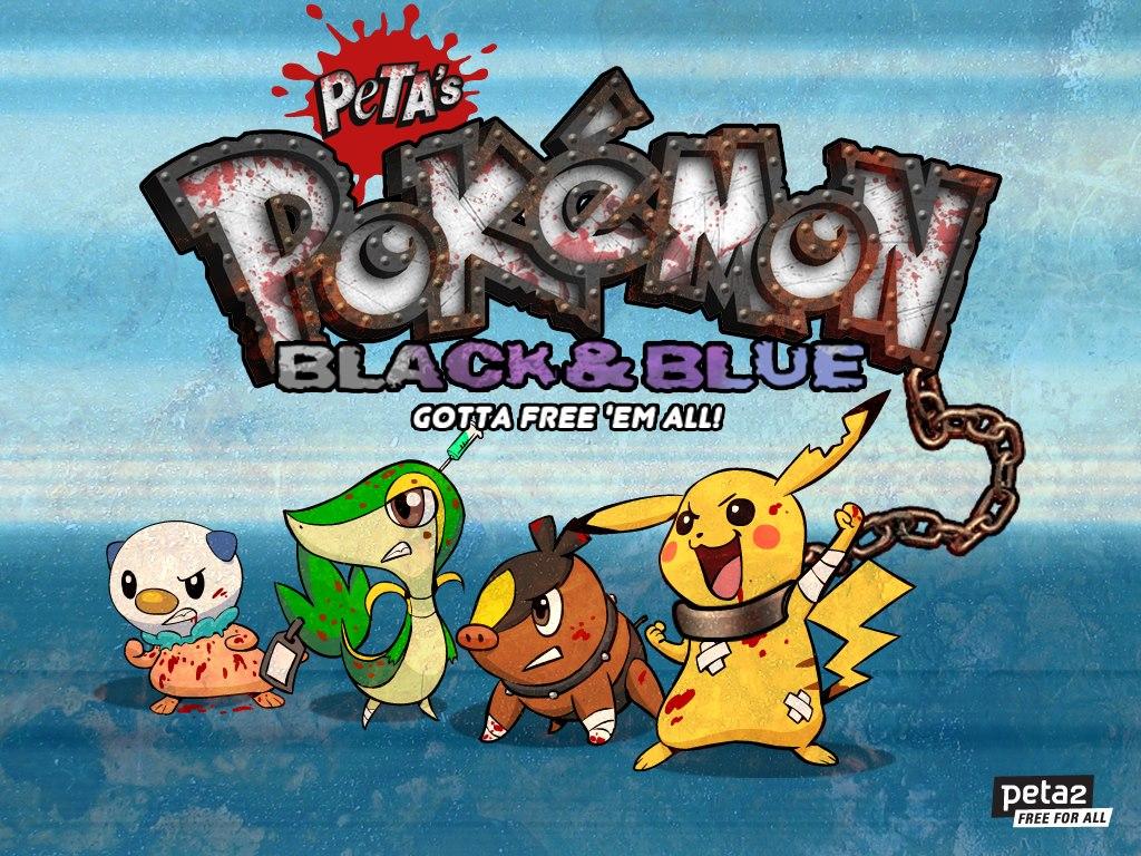 PETA hace una ardua campaña para evitar la violencia a los Pokemon con un juego Flash [Something]