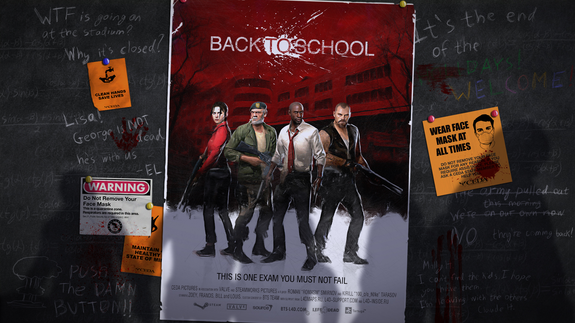 De vuelta a la escuela con Left 4 Dead 2 [Back to School]