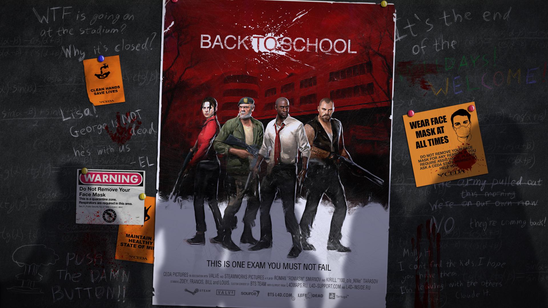 De vuelta a la escuela con Left 4 Dead 2 [Back to School]