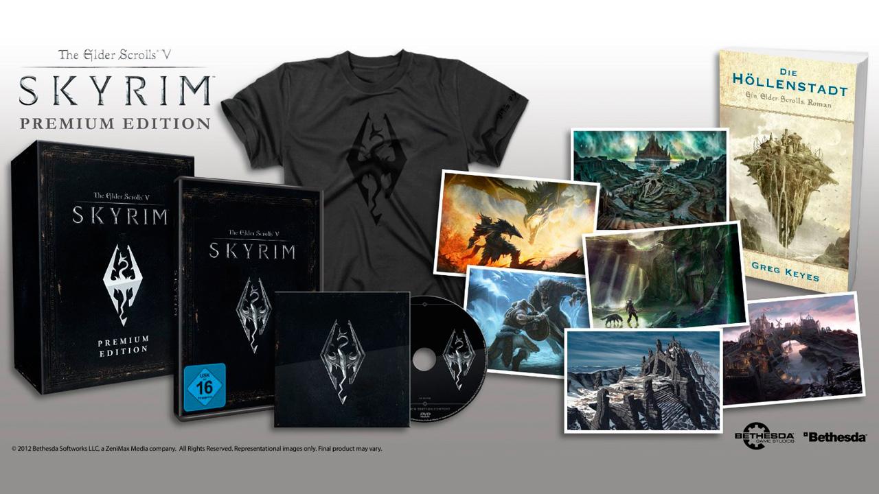 Bethesda anuncio una Edicion Premium de Skyrim [Coleccionistas]