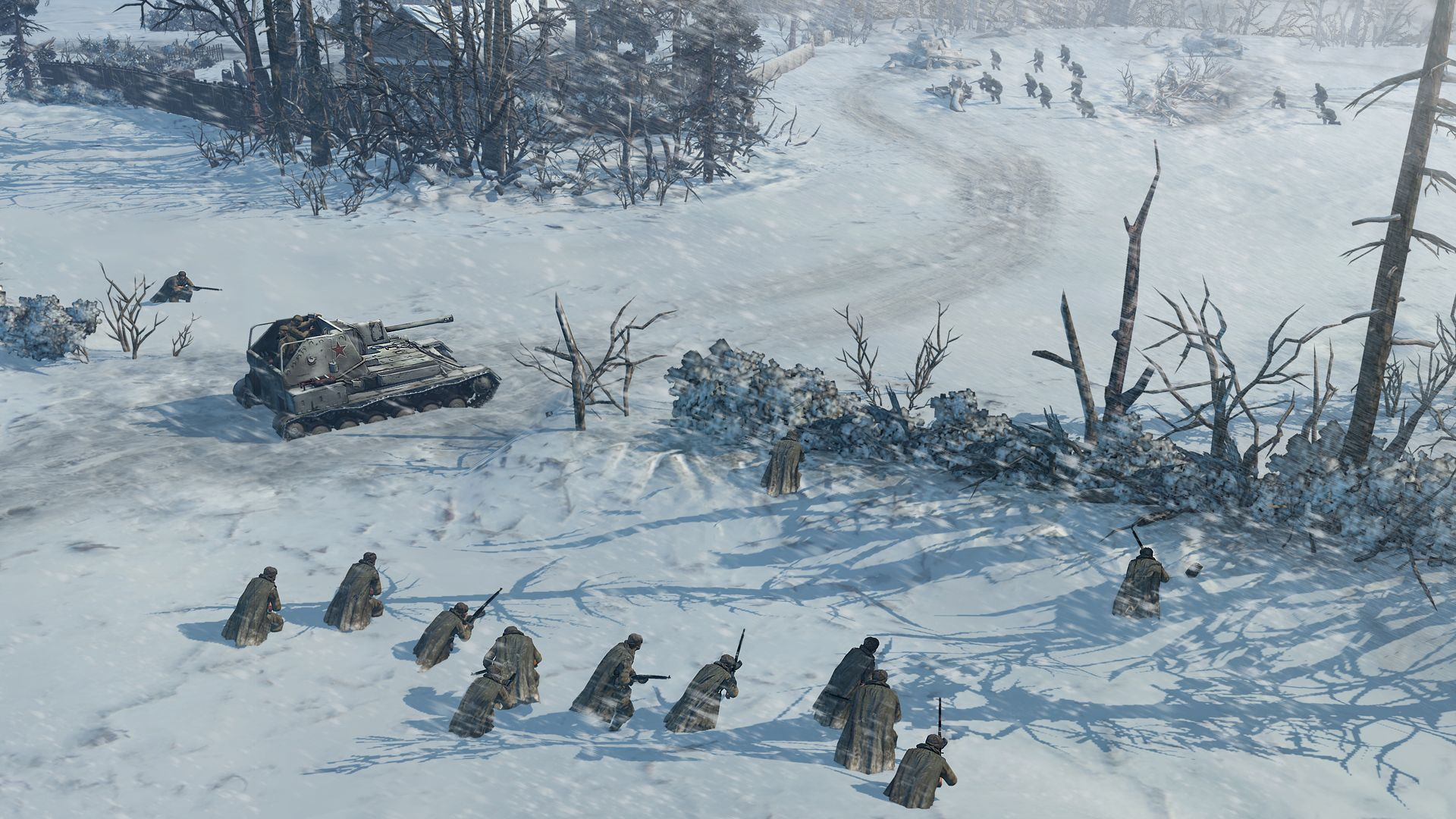 El trailer completo de Company of Heroes 2, muestra más explosiones, snipers y tanques on ice [Vídeo]