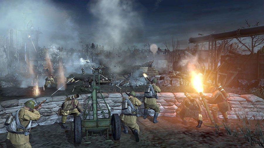 Nuevas imagenes de Company of Heroes 2 nos llevan al frente oriental