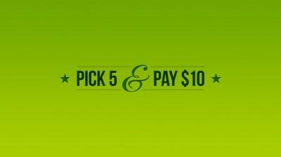 pick-5-pay-10