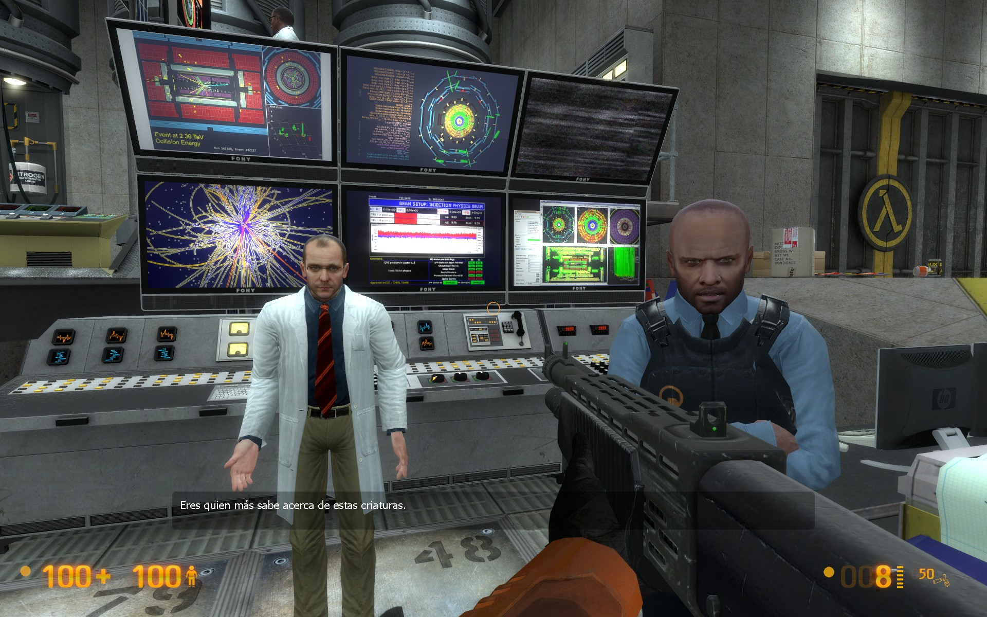 La Demo de Half Life, Uplink, recreada en un mod para Black Mesa Source [Modception]