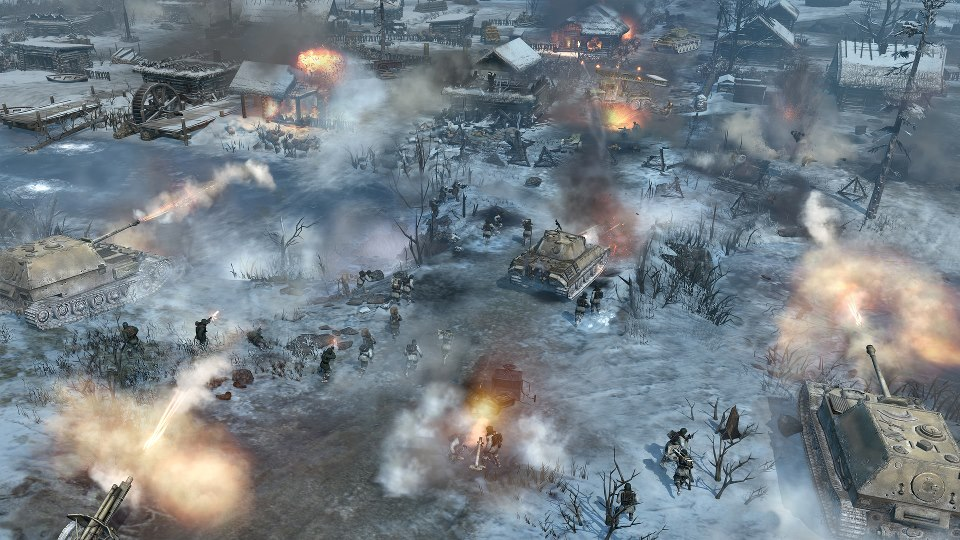 Así se ve Company of Heroes 2 con DirectX 11 [ScreenShot]