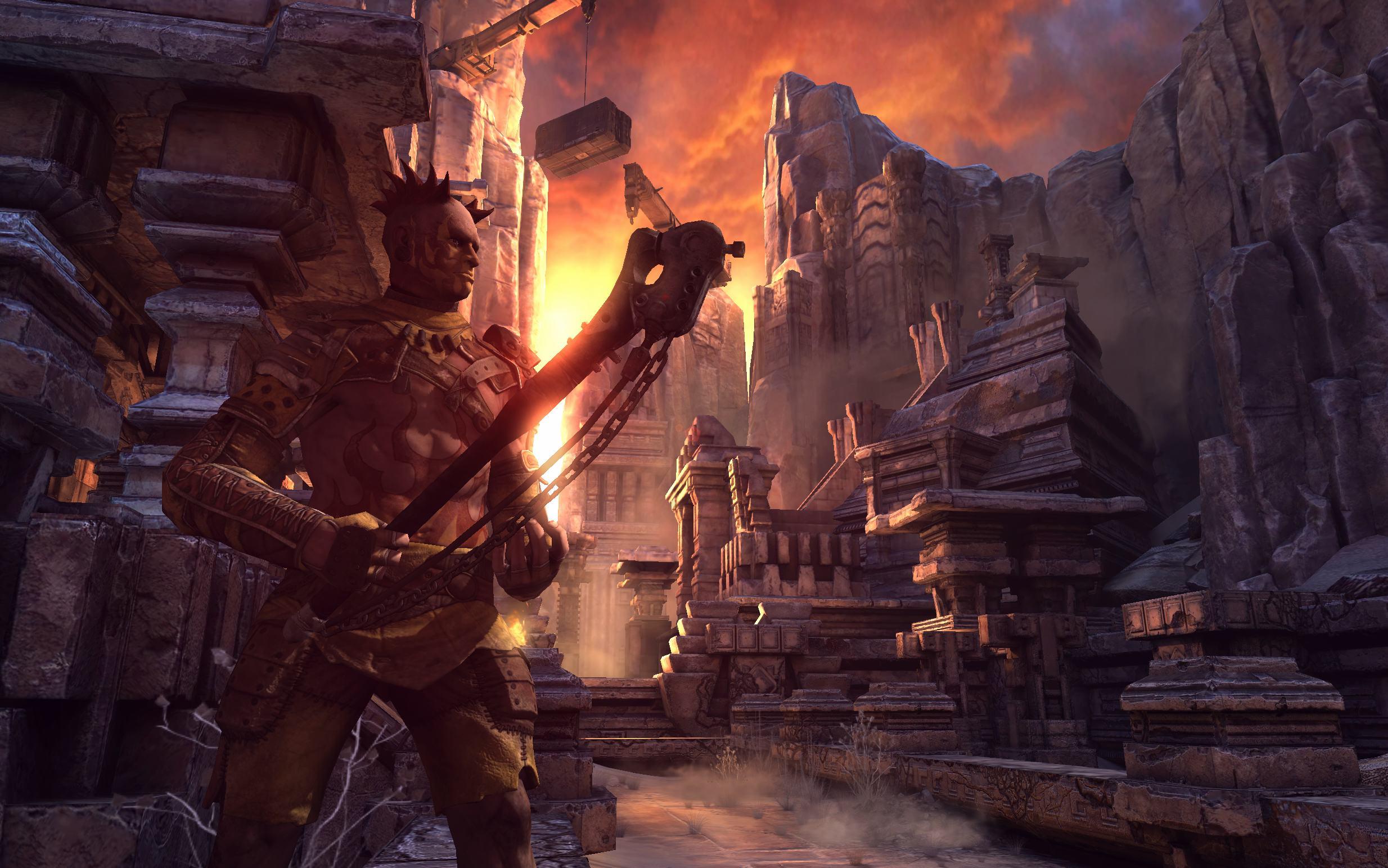 Detalles y fecha de lanzamiento para The Scorchers, el nuevo DLC de Rage