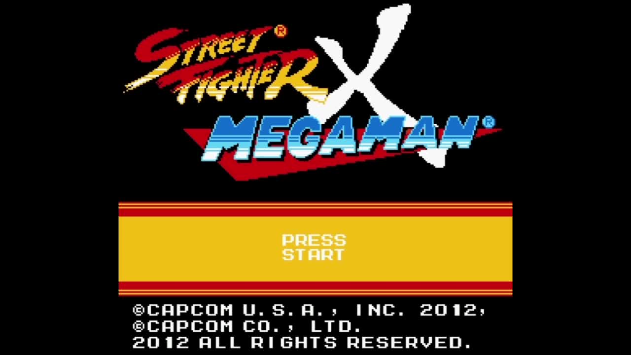 Trailer de Street Fighter X Megaman [8-bit]