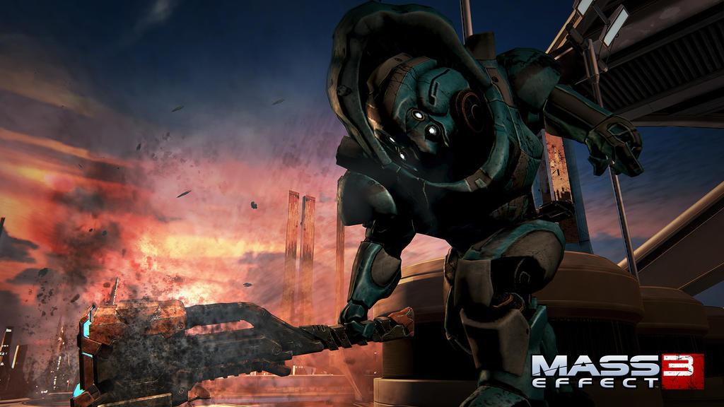Adivinemos de que demonios se tratan estas nuevas imágenes de Mass Effect 3 [Imágenes... duh]