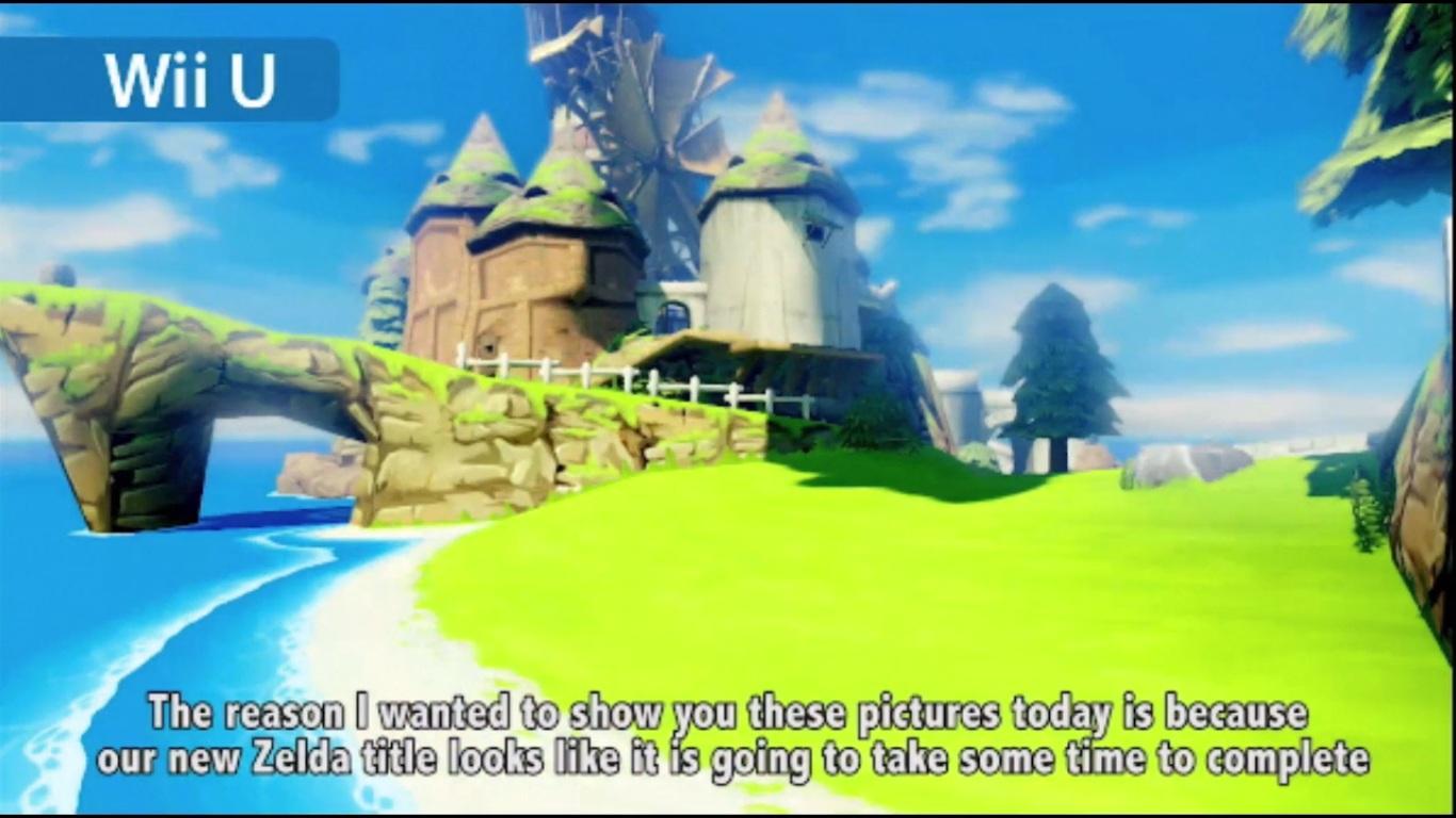 Wii U tendrá un remake HD de The Legend of Zelda: Wind Waker, además de un nuevo título en camino [Anuncios]
