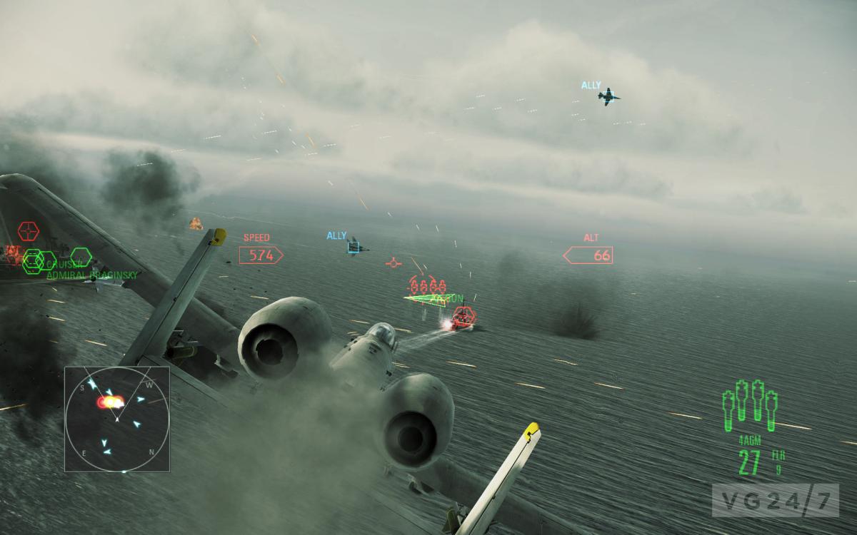 Calentemos motores con estas ScreenShots de Ace Combat Assault Horizon Enhanced Edition [hype!]