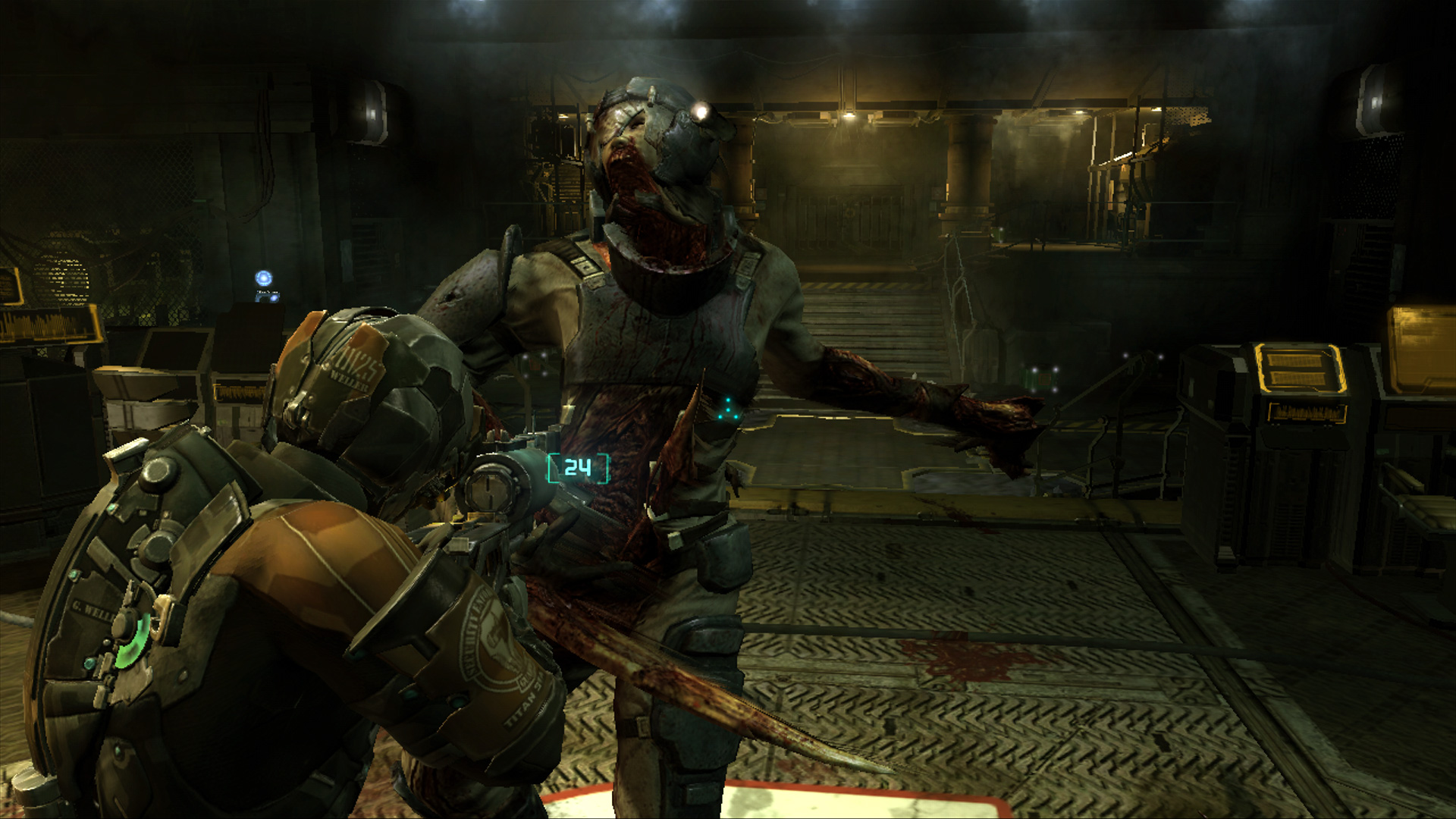 Algunos minutos de gameplay de Dead Space 3 [Video]