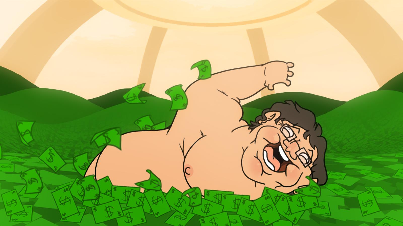 La internetz vota al gordo Gabe Newell como nuevo CEO de Microsoft (Seguido por Stallman)