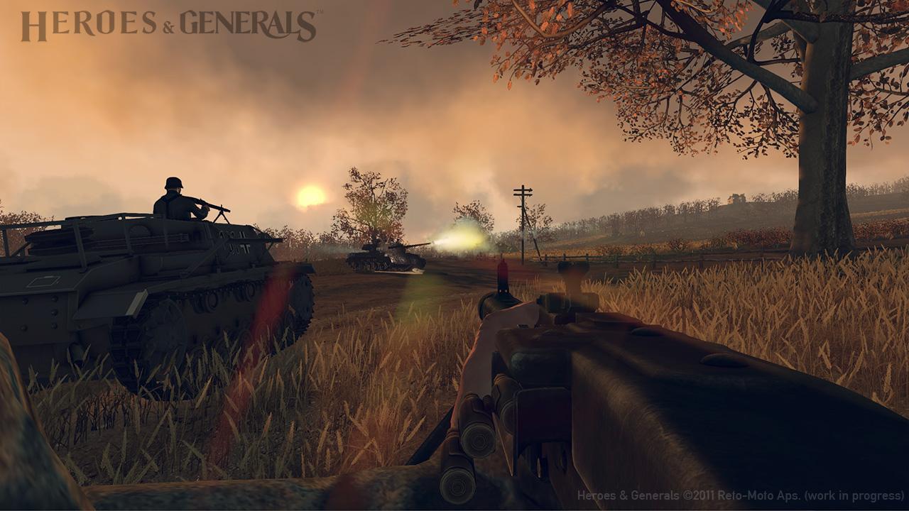 Ya puedes registrarte en la beta de Heroes & Generals [FPS]