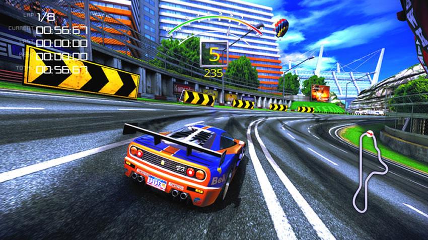 The 90's Arcade Racer y su campaña para traer la nostalgia de las carreras Arcade [Kickstarter]