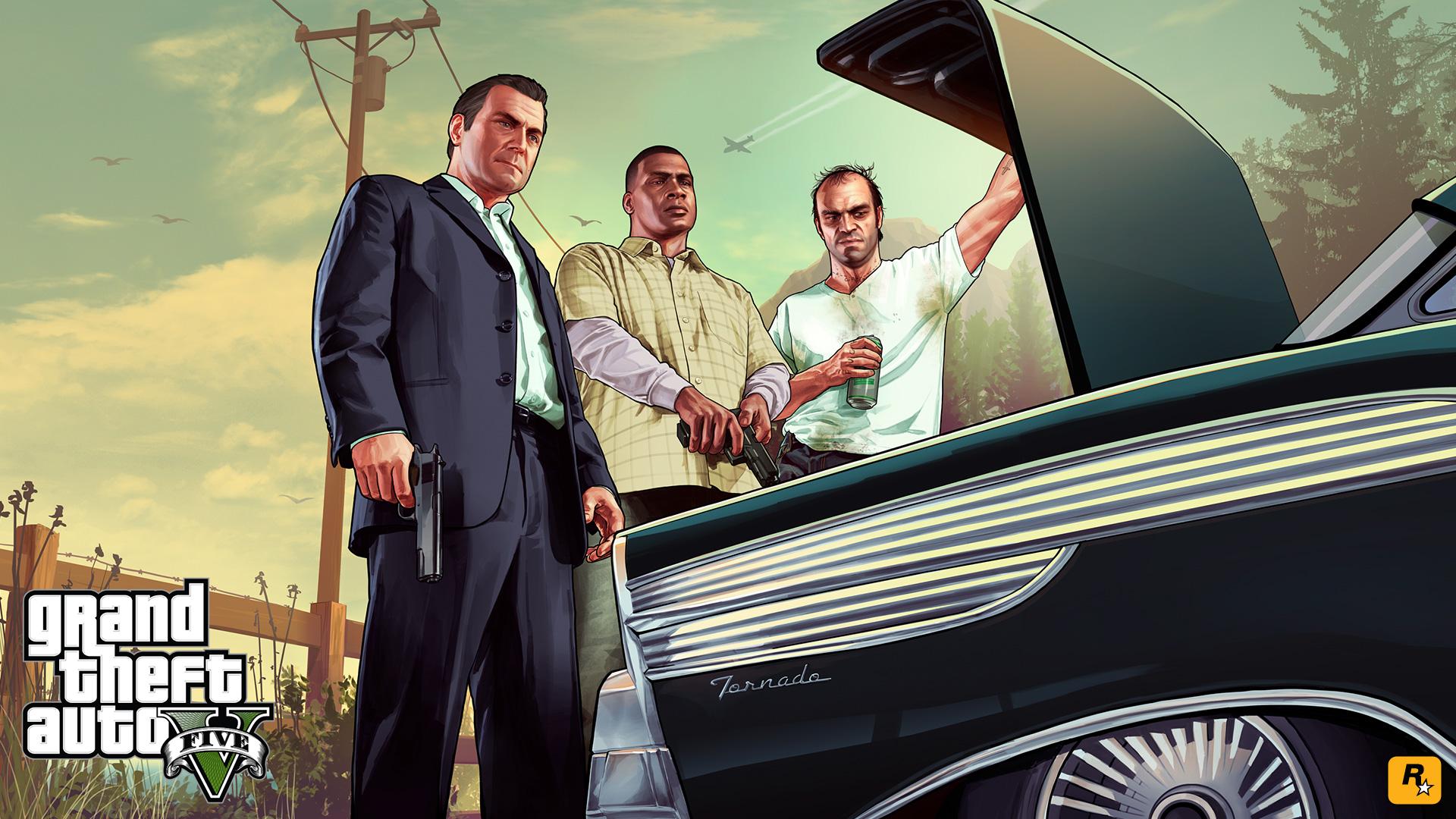 Aparece un nuevo Artwork de GTA V [Imagen]