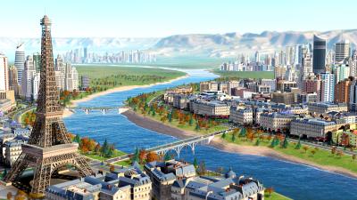 Paris SimCity