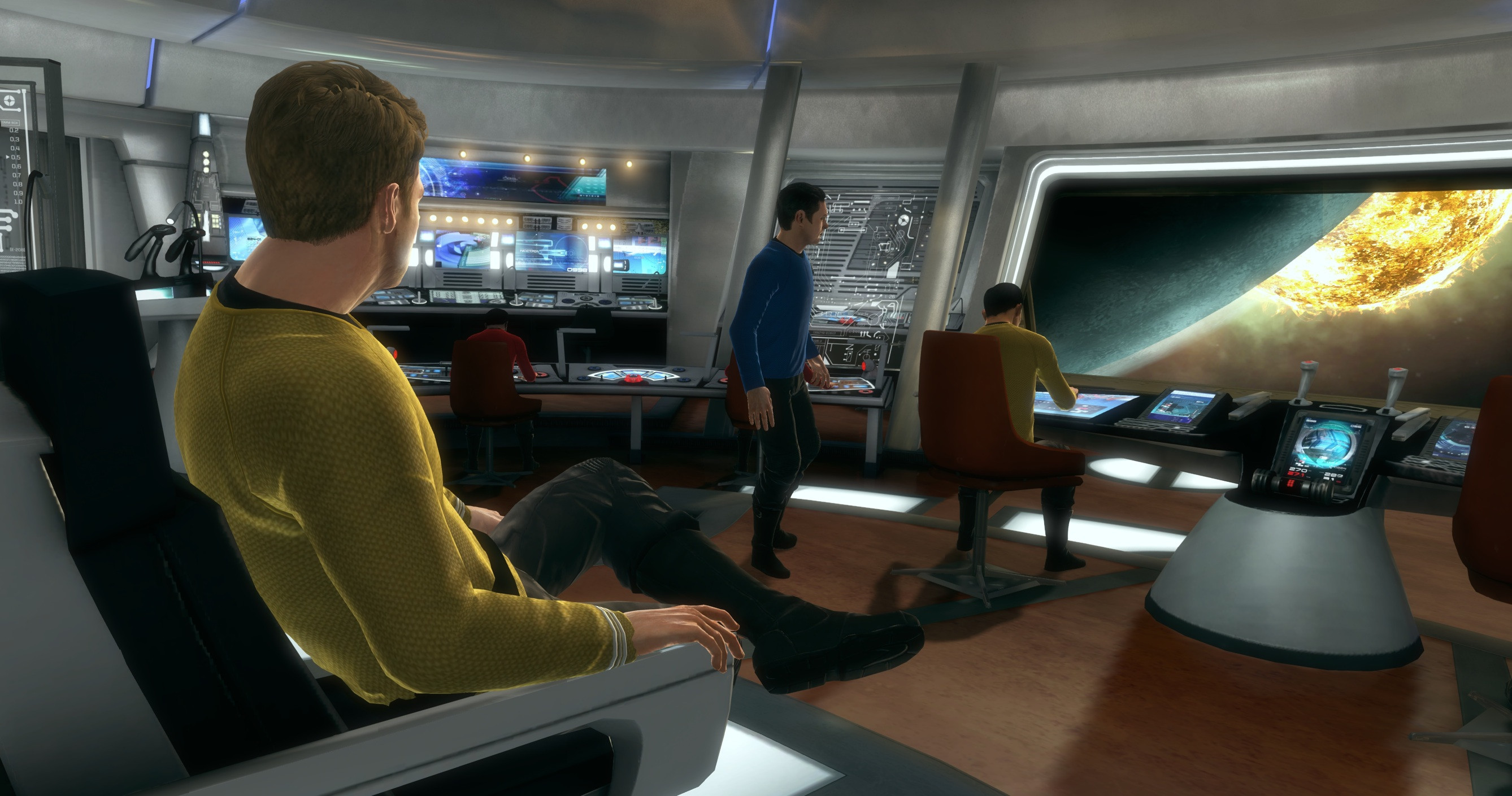 Ultimo trailer de Mass... digo Star Trek The Game [Vídeo]