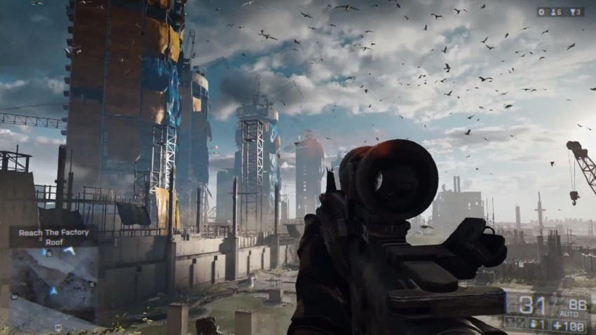 "17 minutos de Battlefield 4, ""Fishing in Baku"" Gameplay [OMG]"