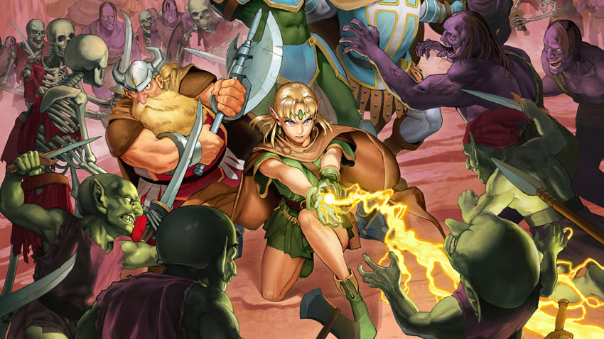 Capcom anuncia Dungeons and Dragons: Chronicles of Mystara [Vídeo]