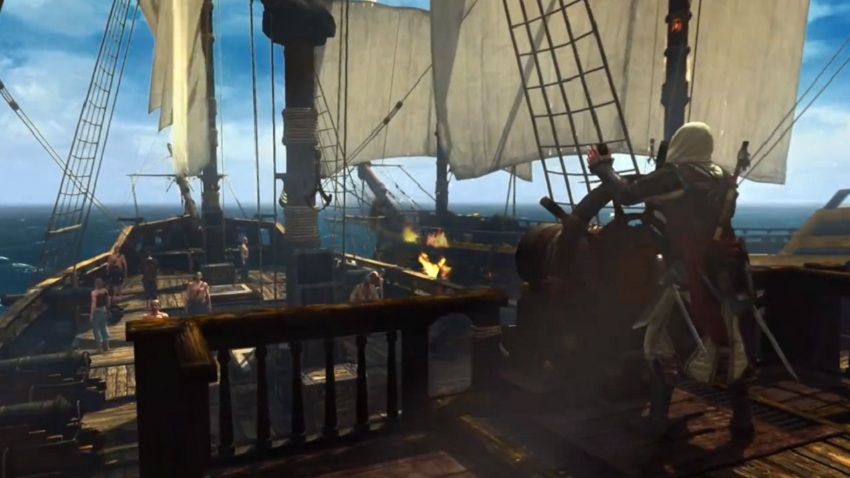 Assassin's Creed 4 Black Flag Tráiler Gameplay SP