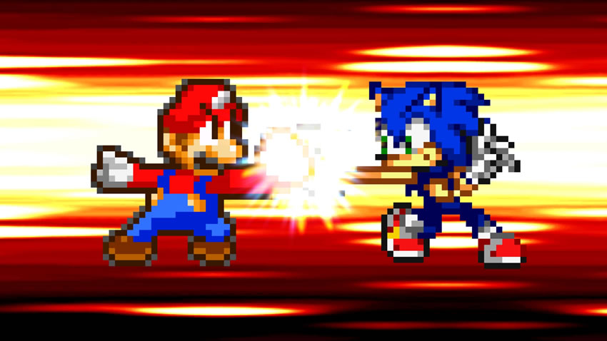 Versus: ¿Cual fue la mejor mascota de los 90's, Mario o Sonic? [8]