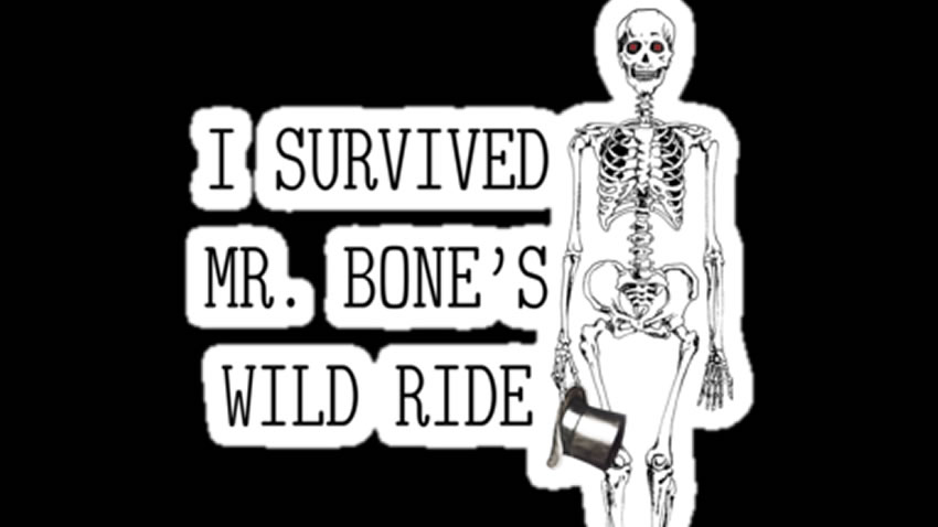 Expedientes Secretos Lagzerianos: Mr. Bone's Wild Ride [The Ride Never ends]
