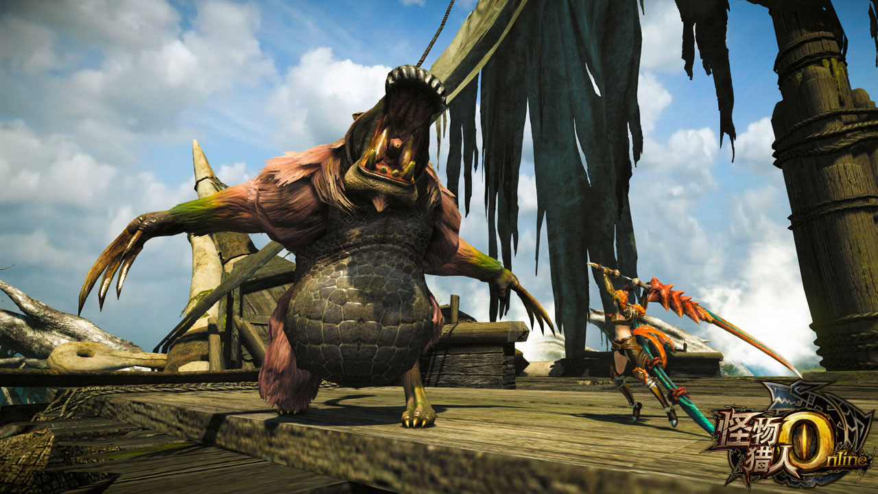CAPCOM anuncia Monster Hunter Online, pero solo para China :c