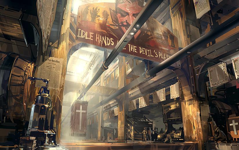 Maravilloso arte conceptual de Bioshock Infinite [galería]