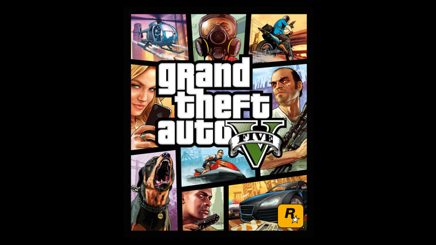 GTA V Packshot
