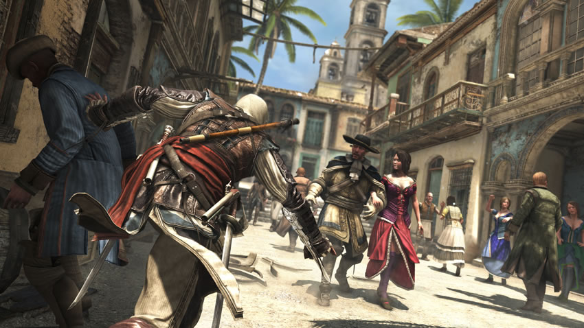 Esto es Assassin's Creed 4 en el fin del mundo [Vídeo]