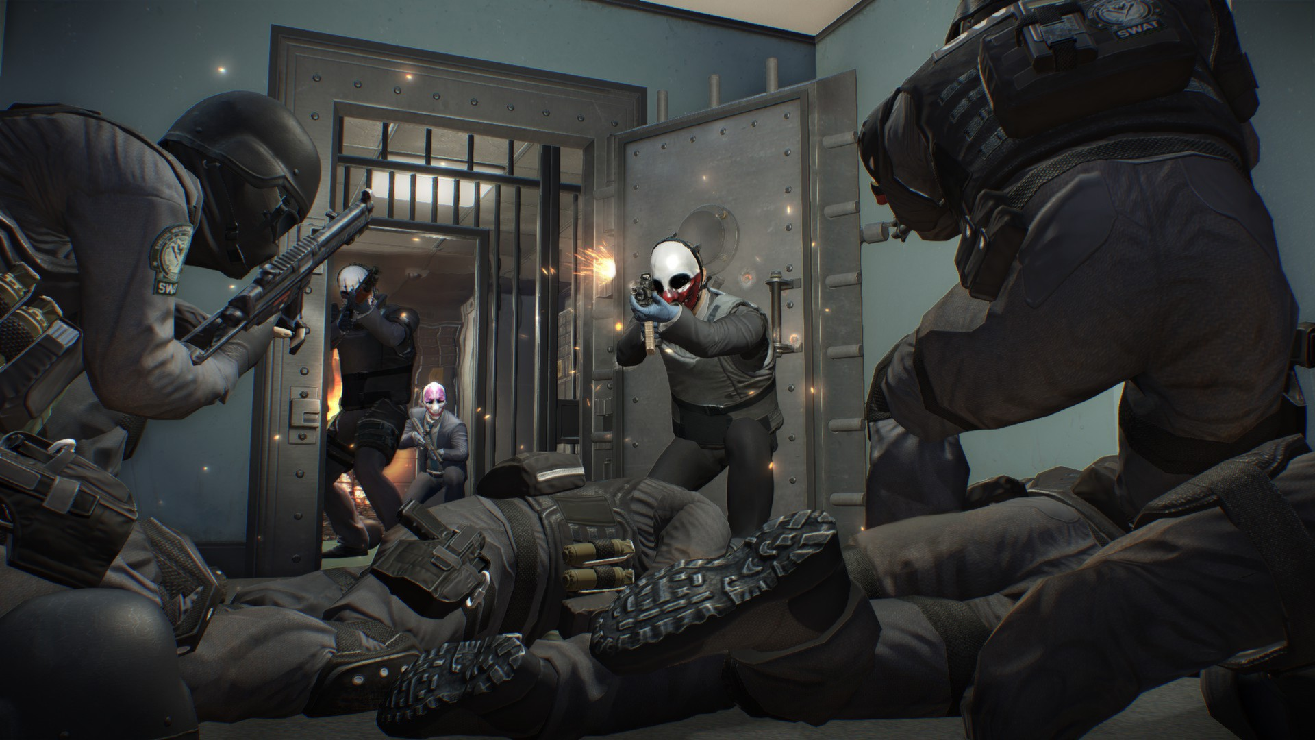 Este trailer gameplay de Payday 2 no deja testigos [Vídeo]