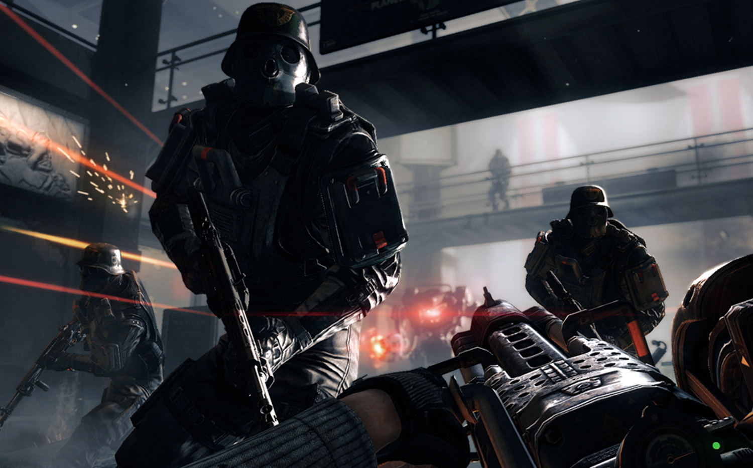 El proximo Wolfenstein: The New Order no solo consiste en disparar al primer nazi que se mueva [Video]