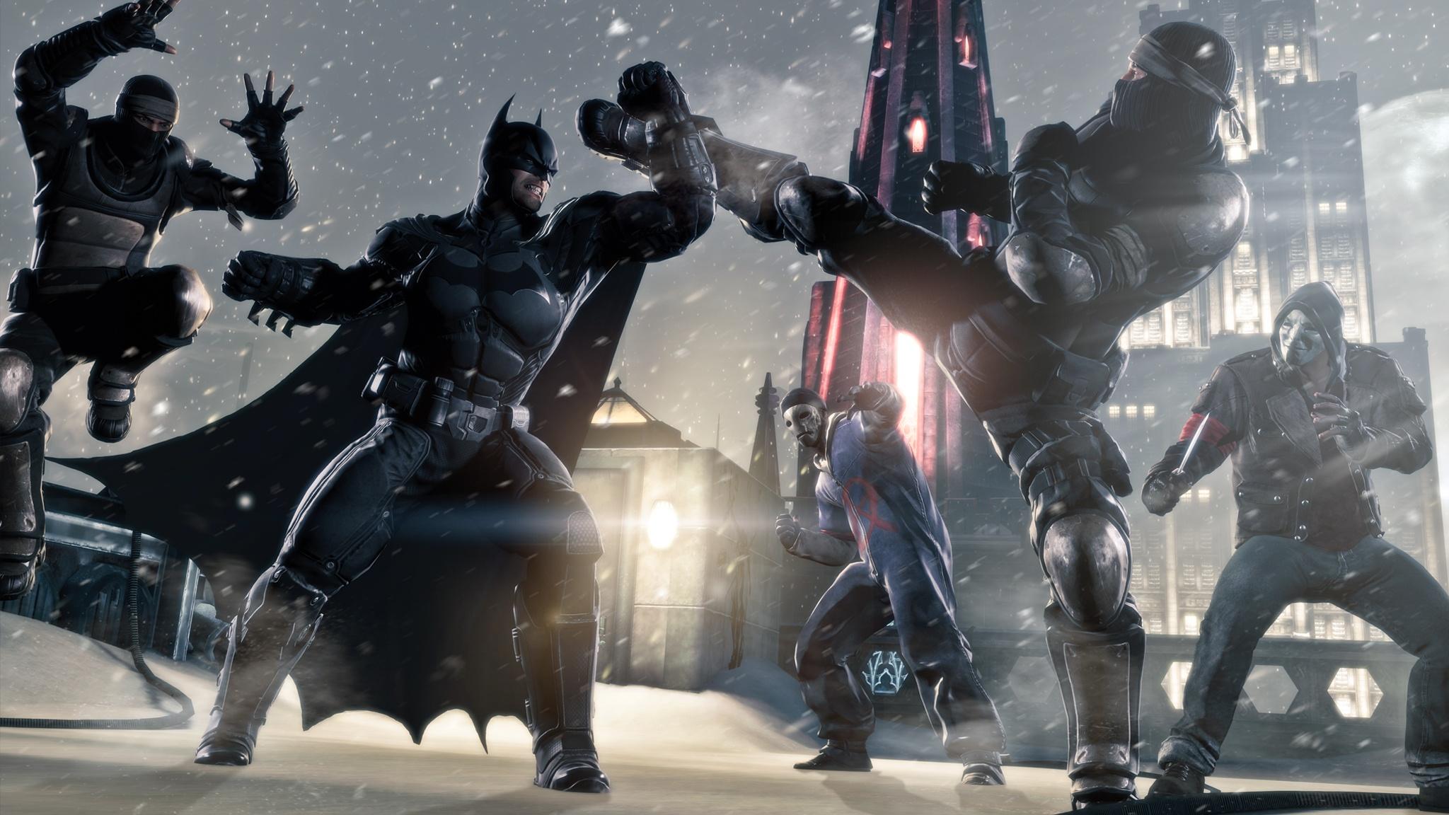 Ahora demos una mirada a Batman Arkham Origins con PhysX [Vídeo]