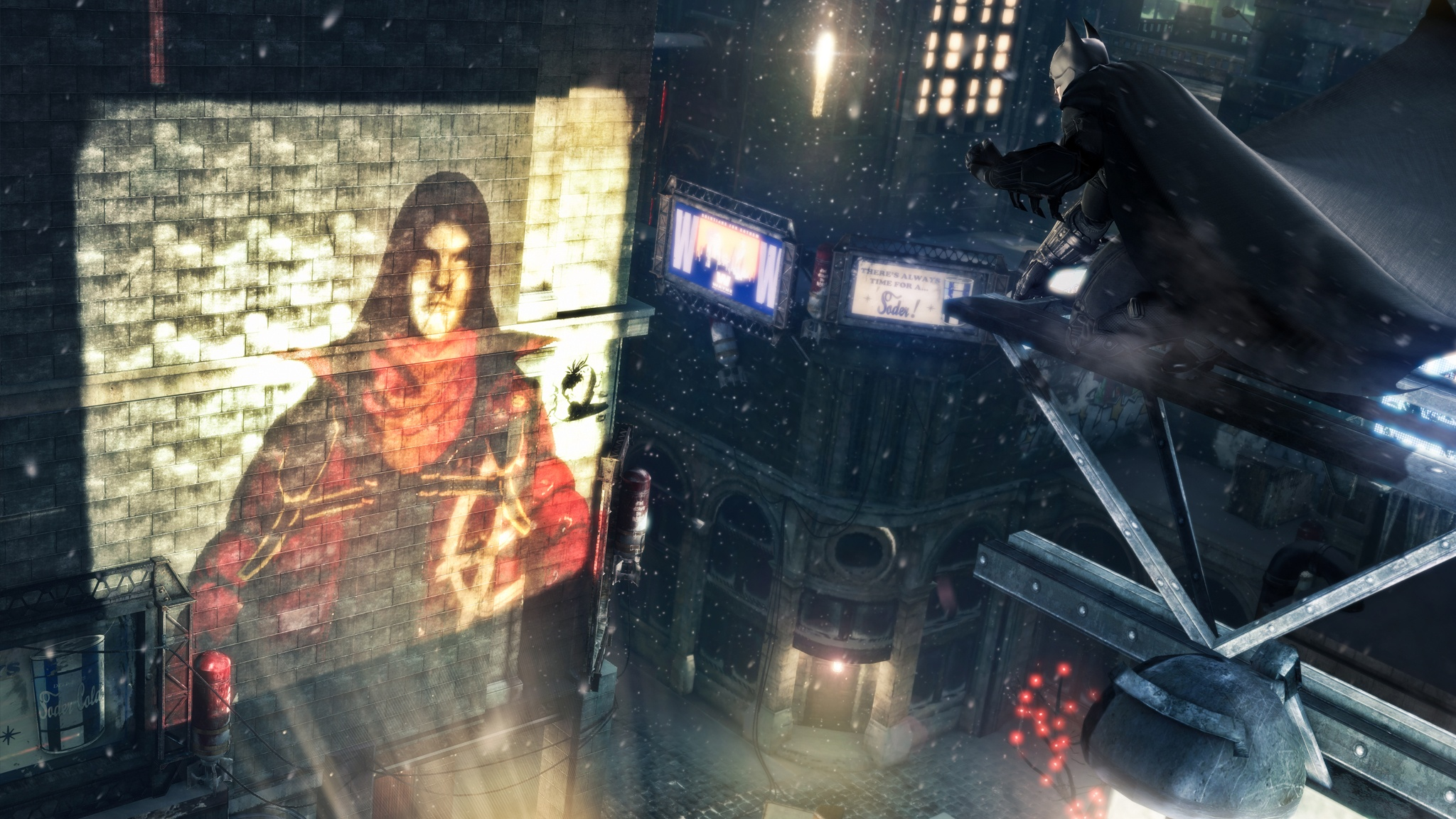 En este trailer de lanzamiento de Batman Arkham Origins Bruce Wayne trabaja horas extras en navidad [Vídeo]