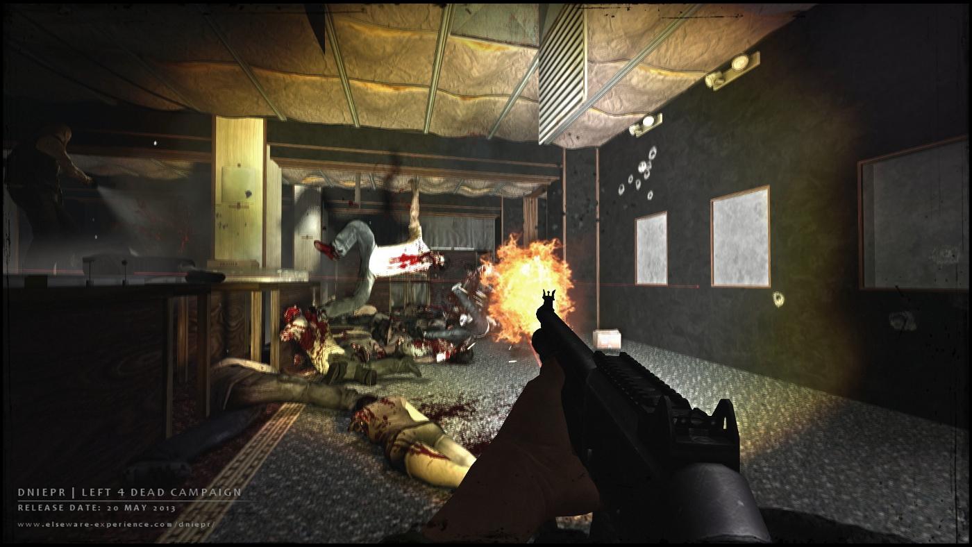 DNIEPR es otro de esos mods para Left 4 Dead 2 que no hay que perder de vista [Vídeo]