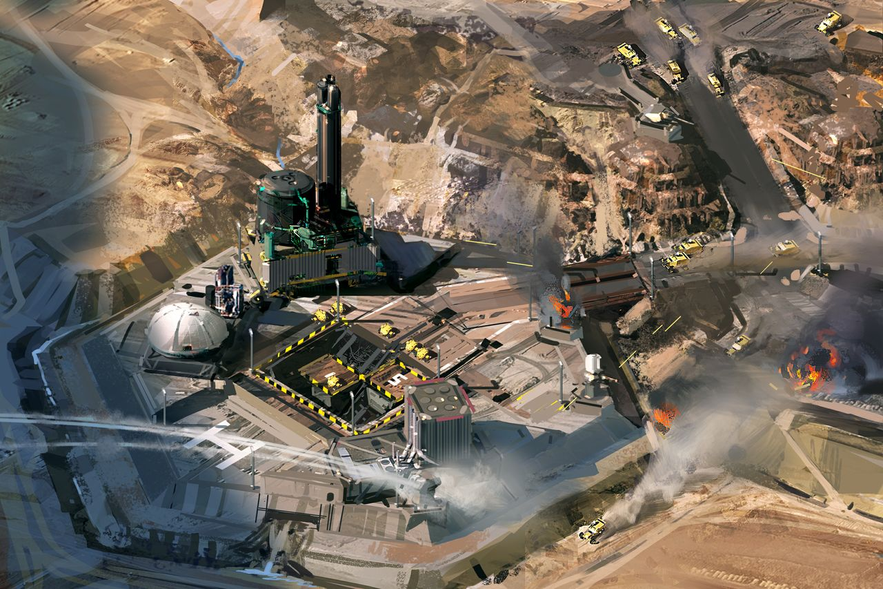 Primer vídeo Gameplay de Hardware: Shipbreakers, tiene un toque de Homeworld pero en el desierto [Video]