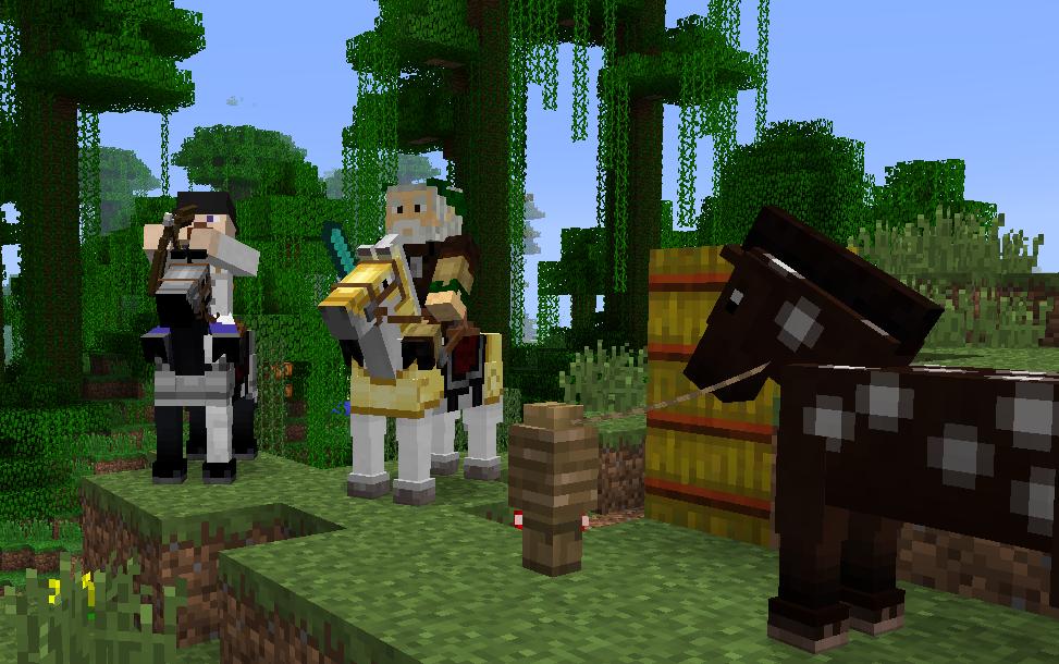 La nueva actualización de Minecraf trae caballos y armaduras para caballos [Anuncios]