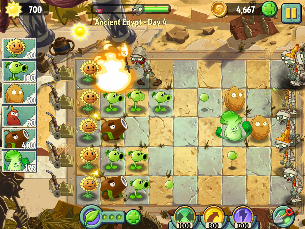 Plants VS Zombies 2: It's About Time llega el 18 de julio y sera totalmente free to play, pero... [Vídeo]
