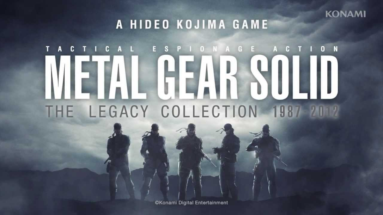 Trailer de Metal Gear Solid Legacy Collection [Video]