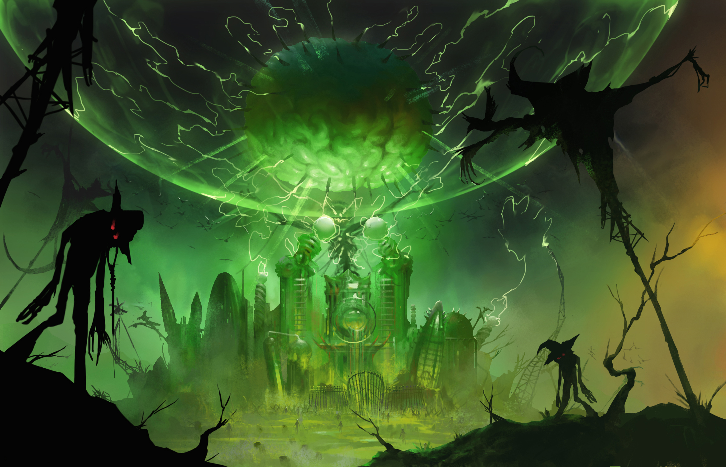 ¿Que pasa cuando mezclas el mundo del Mago de Oz con Zombies?, American McGee tiene la respuesta [Ozombie]