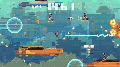 Gameplay de Super Time Force from 'Future Past Future' [VIDEO]