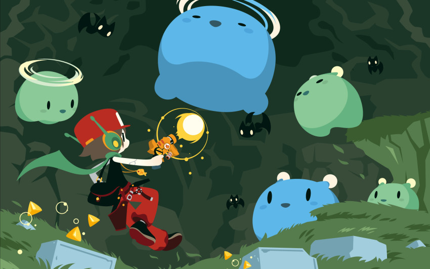 cave-story-3d-shinonoko-japanese-artwork-poster