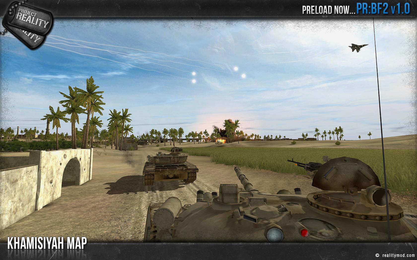 Después de 8 años de desarrollo el mod para Battlefield 2, Project Reality llega a su versión 1.0 [Vídeo]