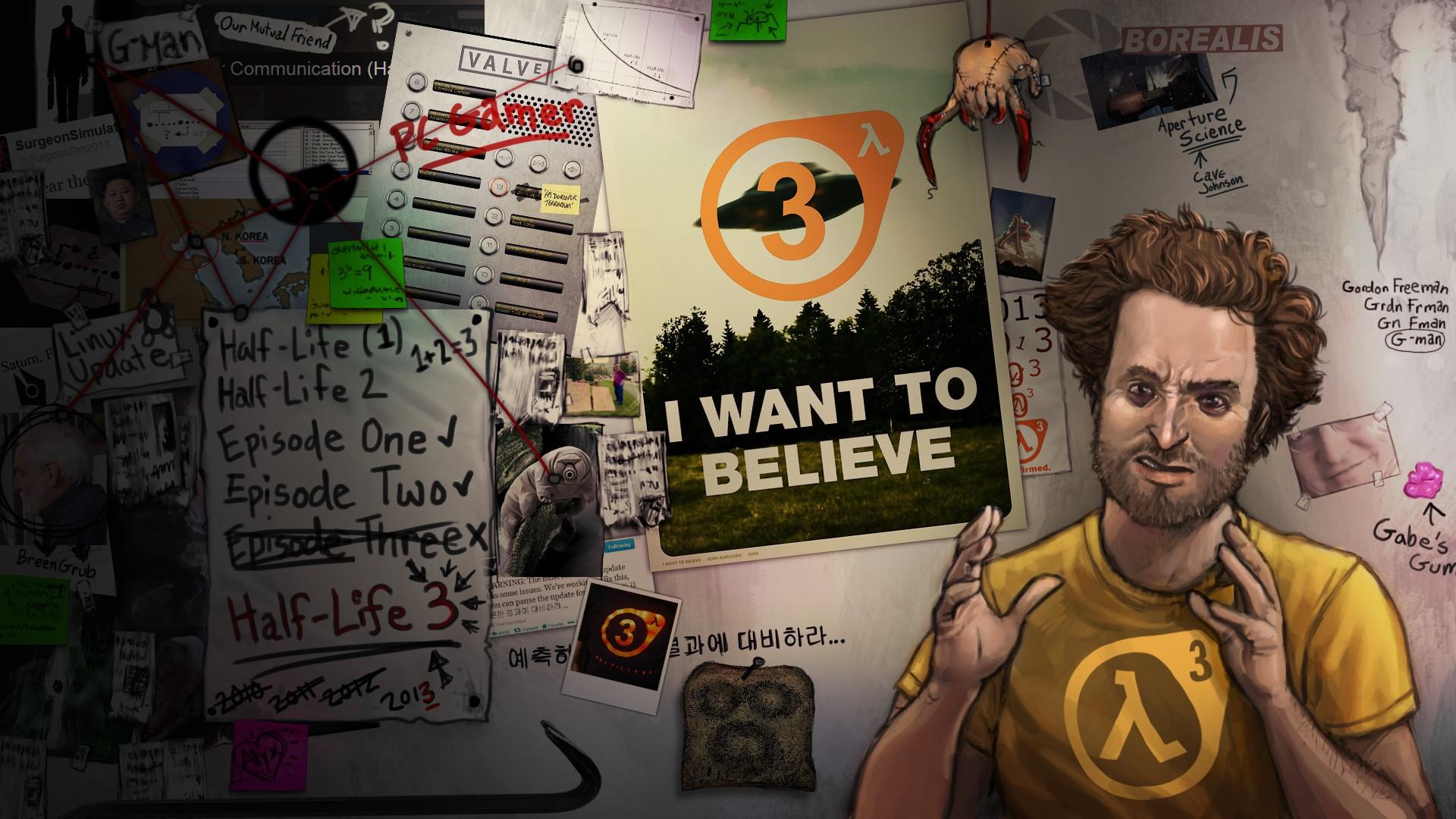 """Así que algo terminado en """"3"""" estaría en desarrollo según una imagen tomada desde las oficinas de Valve [Rumores]"""