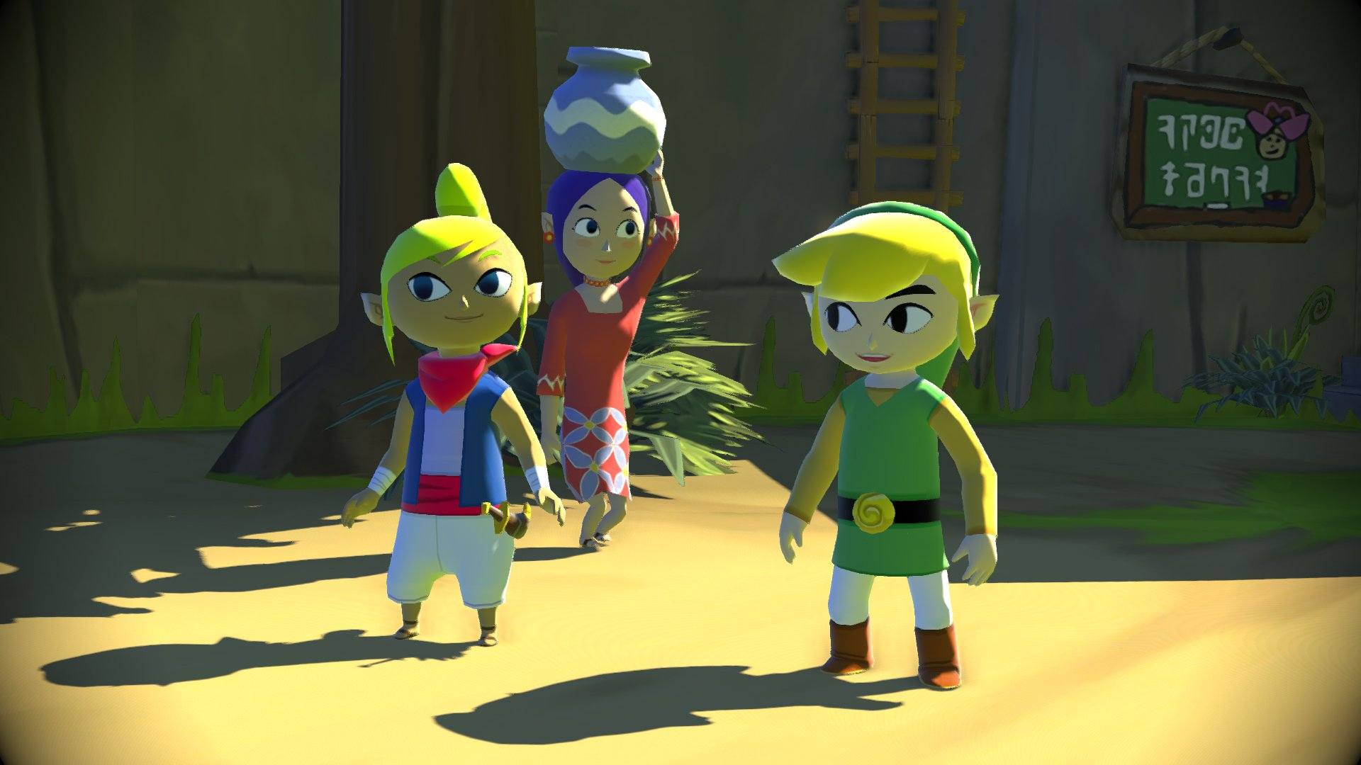 Veamos las diferencias de The Legend of Zelda: The Wind Waker HD con el original